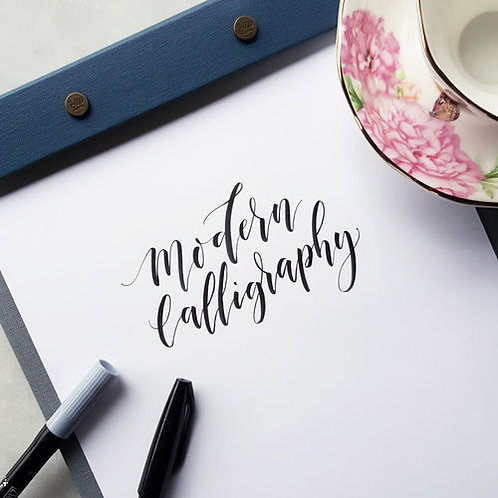 Modern Calligraphy - Monday February 11 - 6pm