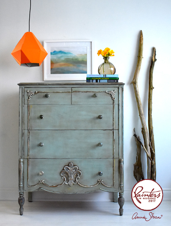 Rustic chest of drawers by Ildiko Ho