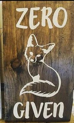 A1 - Zero Fox Given