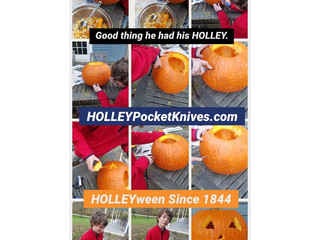 Cutting a Pumpkin HOLLEY Fun