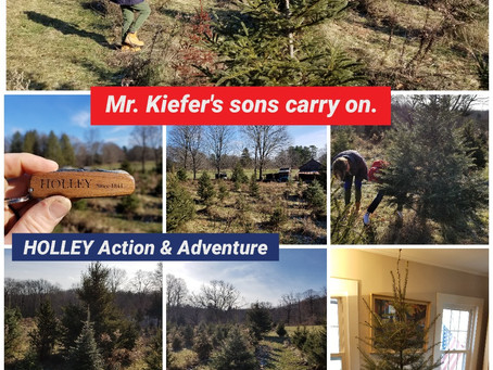 Best CYOT on the Planet. Thanks Kiefer family from HOLLEY Pocket Knives.