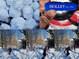 1v1 Snowball Fight = HOLLEY Action & Adventure