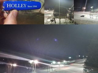 Night Skiing = HOLLEY Action & Adventure. HolleyKnives.co Since 1844