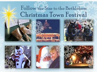 Bethlehem, CT  Christmas Town Fest from 5 pm December 1st until 4 pm December 2nd = HOLLEY Action &a