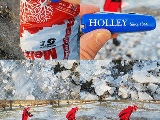 Ice Breaking = HOLLEY Action & Adventure. HolleyKnives.co Since 1884