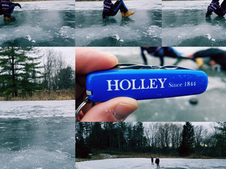Frozen Pond = HOLLEY Action & Adventure