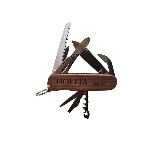 MOD13A Pocket Knife with Premium Wood Scales