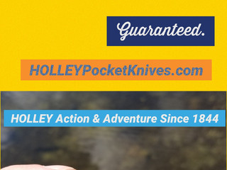 Your HOLLEY is your friend for Action & Adventure.