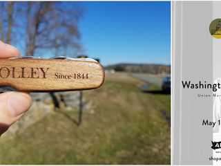 Mr. HOLLEY Goes to WDC for American Field Market at Union Station 12-13 May 11am-6pm. 100% Free. You