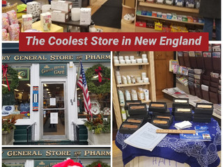 Salisbury Pharm. is THE place for New England holiday shopping. Get a HOLLEY at a great price too.
