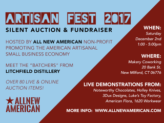 HOLLEY Pocket Knives Joins ALL NEW AMERICAN Non-profit for First Artisan Fest/Market in New Milford,