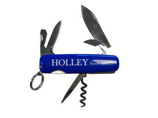HOLLEY Classic Official* Blue Plastic is Action & Adventure, and Affordable. What a Deal. (It&#3