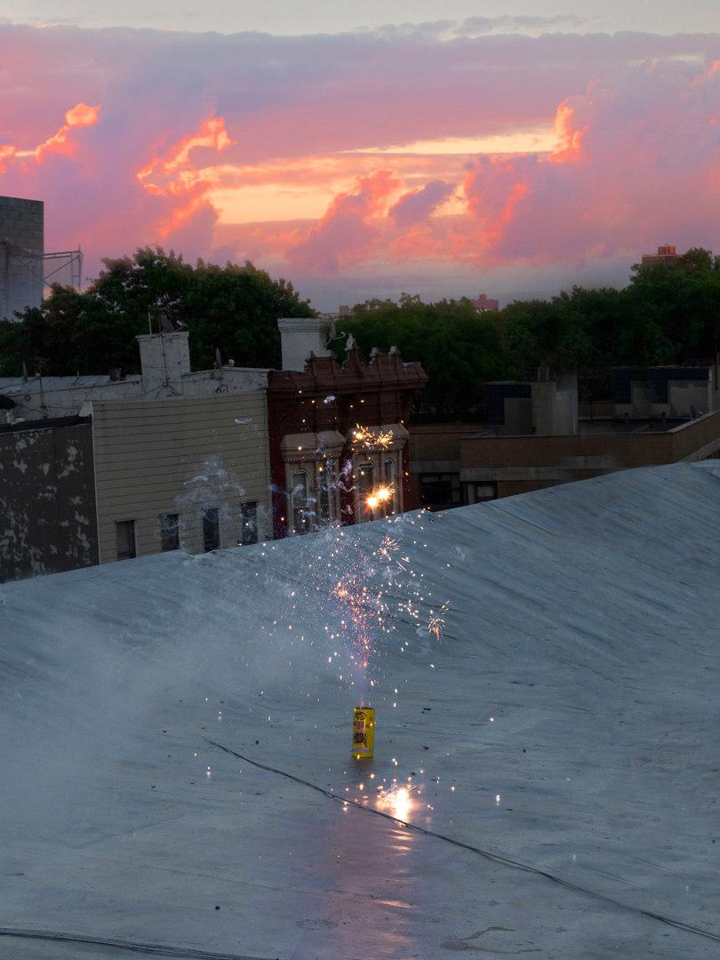 Sunrise Fireworks