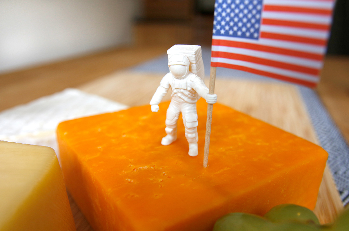 Astronaut Food Flags