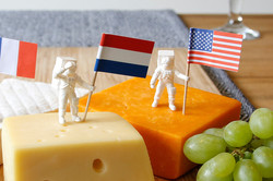 Astronaut Food Flags