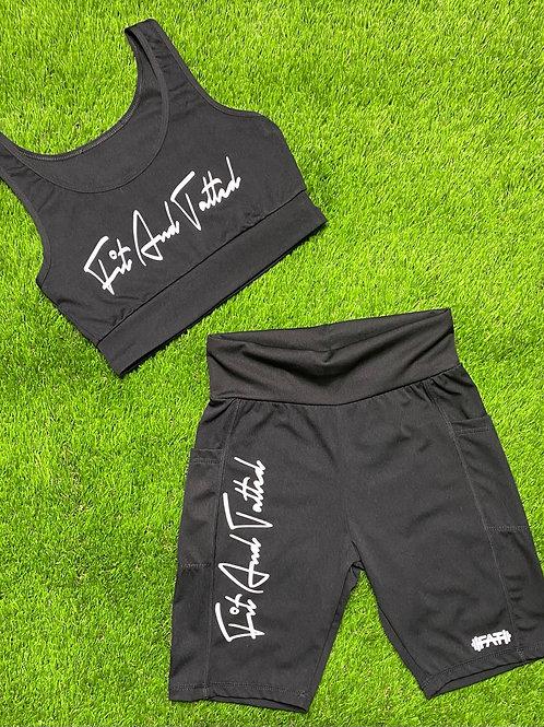 Sports Bra & Shorts