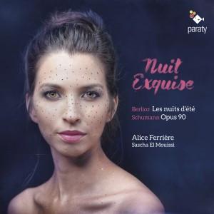 """""""Nuit exquise"""", un CD de mélodies et Lieder par Alice Ferrière et Sascha el Mouissi"""