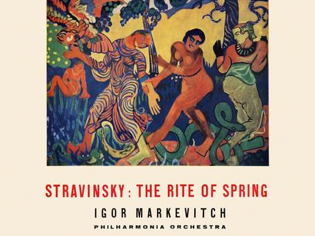 Le Sacre du Printemps par Igor Markevitch