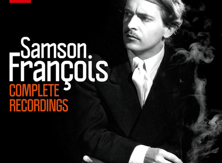 Tout (ou presque) des enregistrements de Samson François en 54 CD et 1 DVD