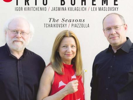 Tchaïkovski et Piazzolla par le Trio Bohème
