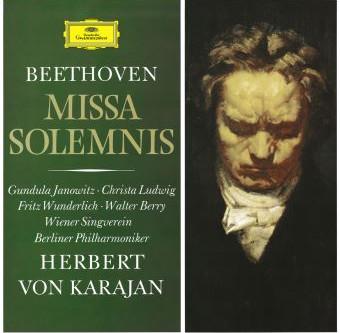 La Missa Solemnis de Beethoven, à l'occasion de la réédition de la version Karajan de 1966
