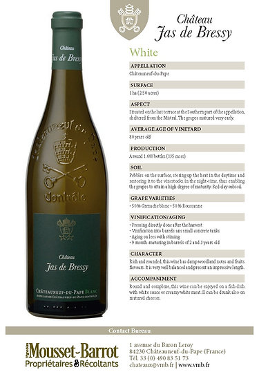 2016 Chateau Jas de Bressy, Chateauneuf-du-Pape (coming soon)