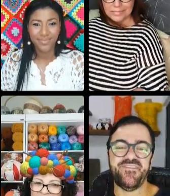 Live com Luciana, Rosely, Neddy e Elá