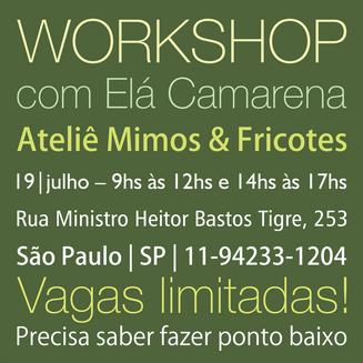 Workshop em São Paulo