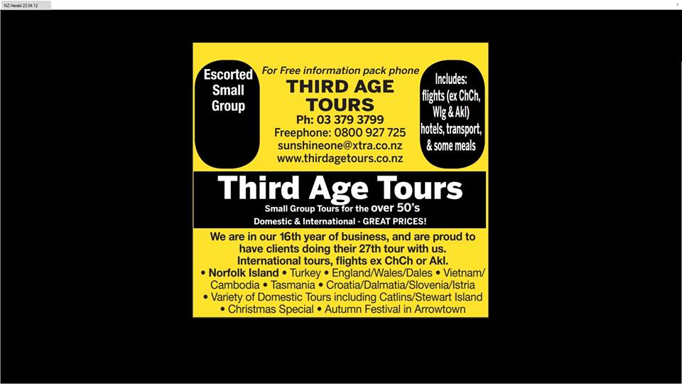 Third Age Tours