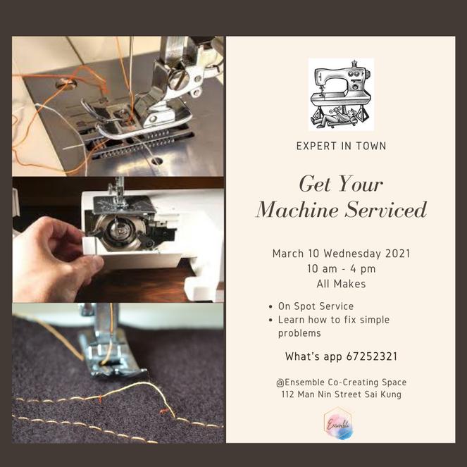 Get Your Machine Serviced