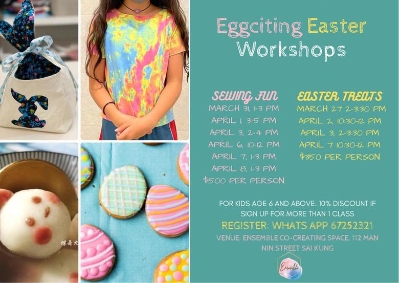 Eggciting Easter Workshop