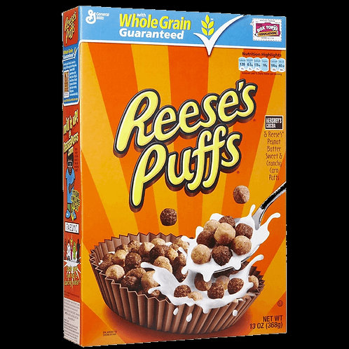 Reese's puff cereal: 368g