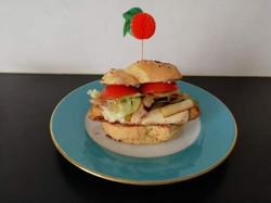 Balcon burger (sans bacon)