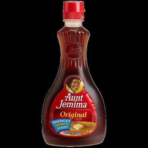 Aunt jemina original syrup