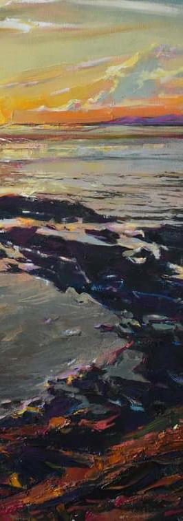 """Павленкович Андрей """"Вечер. Море. Камни"""", 70х100.jpg"""