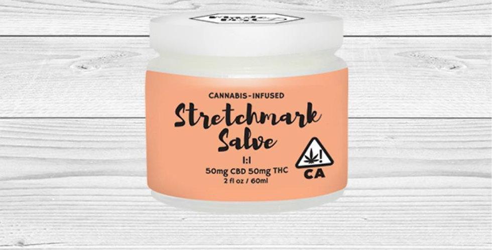 Stretch Mark Salve (50mg CBD/50mg THC)