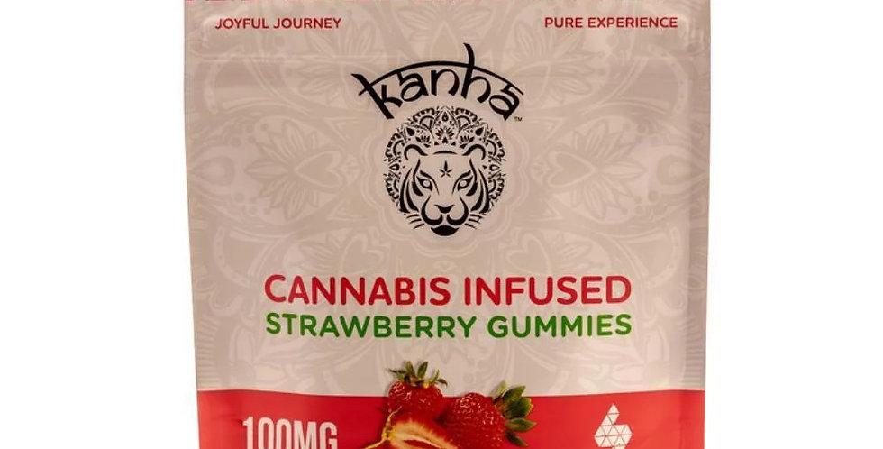 Strawberry - Indica [10pk] (100mg)