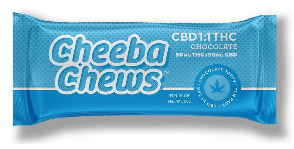 1:1 CBD:THC [10pk] (50mg CBD/50mg THC)