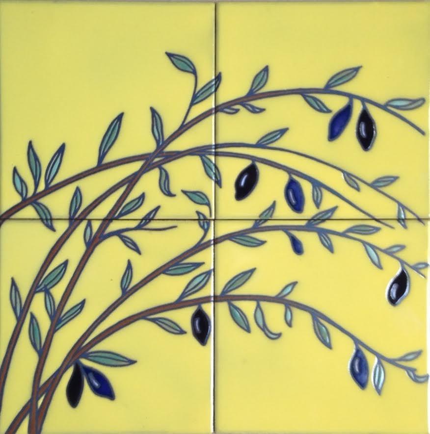 olive tile