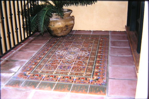 --outdoor tile rug
