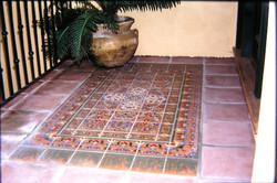 --outdoor tile rug