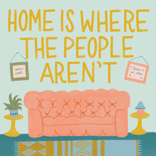 Introvert Home Sweet Home
