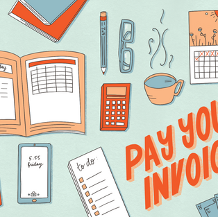 Pay Your Invoice Illustration