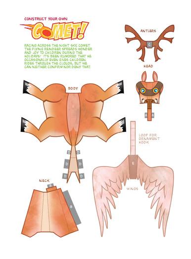 Comet Paper Craft