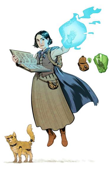 Mara, The Ghost Wizard