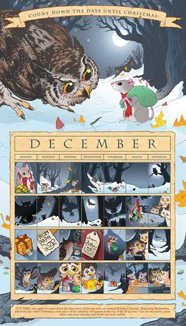 2010 Advent Calendar Comic