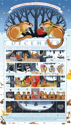 2011 Advent Calendar Comic