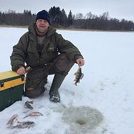 Рыбалка на Селигере. Окунь зимой. Заречь