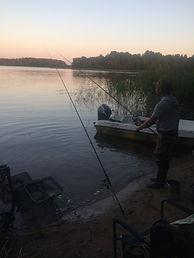 Рыбалка на фидер на  Селигере. Дом рыбака на Селигере.