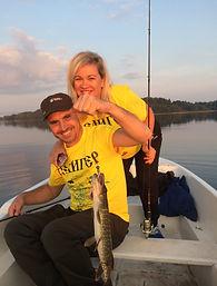 Рыбалка на спининг на Селигере